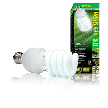 Image of Exo Terra UVB100 Compact Tropical Lamp 26W