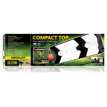 Image of Exo Terra Compact Top Terrarium Canopy 60cm (Medium)