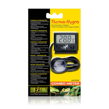 Image of Exo Terra Digital Thermo-Hygrometer