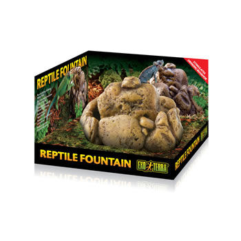 Image of Exo Terra Reptile Fountain Water Dish With Pump