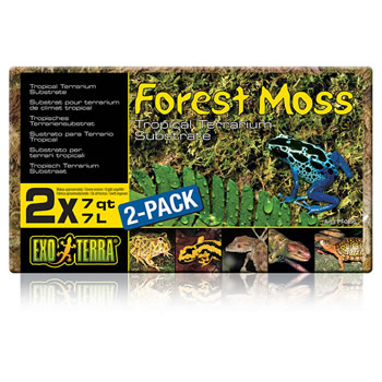 Image of Exo Terra Forest Moss 2 x 7L