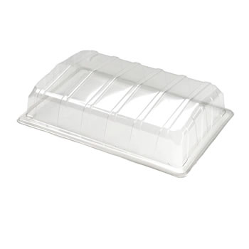 Image of Nutley's Clear Plastic Full Size Seed Propagator Lids (Pack of 20)