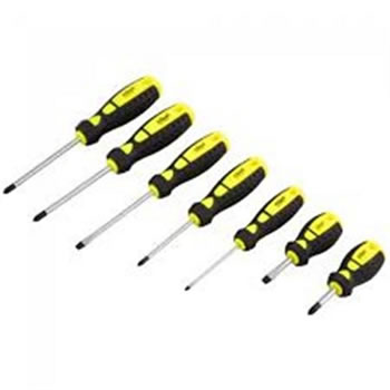 Image of Rolson 7pc Screwdriver Set