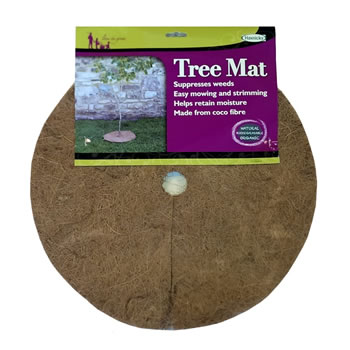 Image of Haxnicks Tree Mat 40cm Biodegradable Mulch Mat Protect