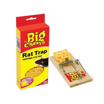 Image of STV Pest Control - Baited Ready-to-Use Rat Trap (STV110)