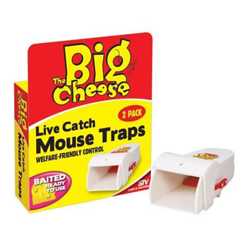 Image of STV Pest Control - Live Catch Mouse Traps Twinpack