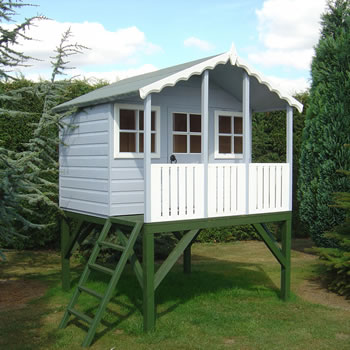 Image of Shire - Stork Playhouse (6' x 4' x 2') WITH PLATFORM