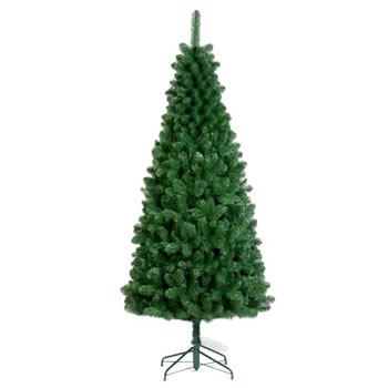 Image of Tree Classics 1.8m (6ft) Green Slim Artificial Christmas Tree (72-497-970)