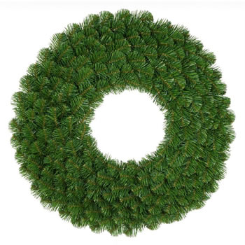 Image of Classics 75cm Green Alaskan Pine Wreath with LEDs (730-260-850LM)