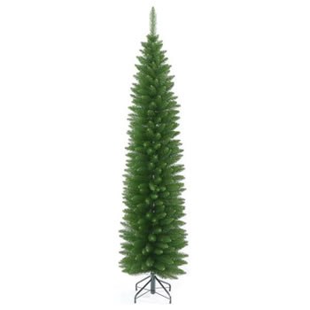 Image of Tree Classics 2.1m (7ft) Green Pencil Artificial Christmas Tree (84-357-205)