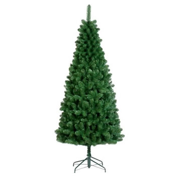 Image of Tree Classics 2.4m (8ft) Green Slim Artificial Xmas Tree