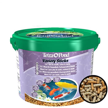 Image of Tetra Pond Variety Sticks 10L (1650g)