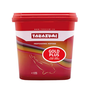 Image of Takazumi Gold Plus Koi Food 2.5kg