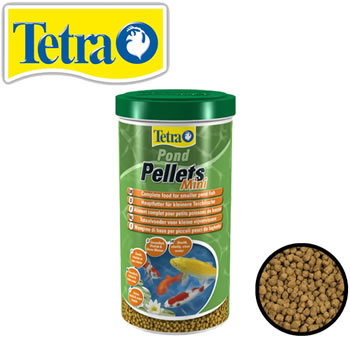 Image of Tetra Pond Pellets Mini 1L (260g)