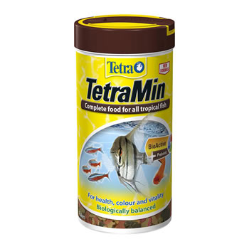 Image of Tetra TetraMin Tropical Flake Food 100g