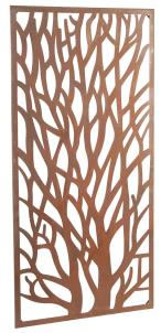 Image of Rustic Steel Garden Metal Tree Screen 1.8m Tall
