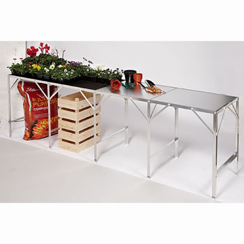 Image of Greenhouse Benching Single Tier 117cm long x 92cm wide