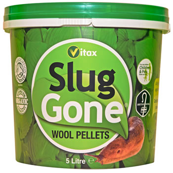 Image of Slug Gone Organic Wool Pellets Natural Organic 5 litres