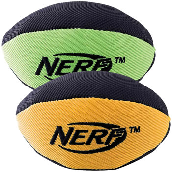 Image of Nerf Dog Trackshot Squeaker American Football 18cm