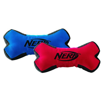 Image of Nerf Dog Trackshot Squeaker Bone 20cm