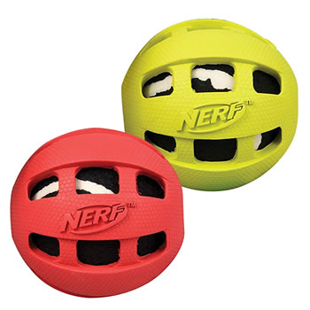 Image of Nerf Dog Rubber Tennis Ball 9cm
