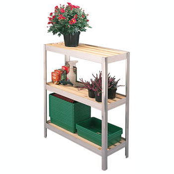 Image of Versatile Shelving 91.5cm High x 106.5cm Long x 51cm Wide (w. Trays)