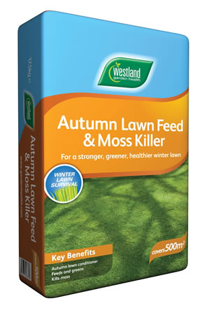 Image of Westland Autumn Lawn Feed & Moskiller 400m2 Bag