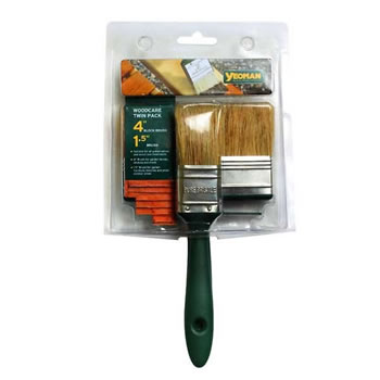 Image of Yeoman Woodcare Brush Twin Pack (YEO0824)