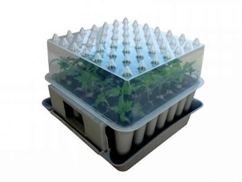 Image of Agralan Pop-Up Plug Plant Root Trainer propagator Unit