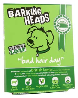 Image of Barking Heads Bad Hair Day 8 x 400g 80% lamb content