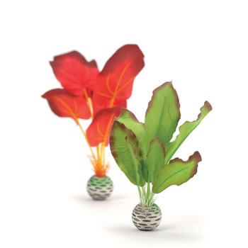 Image of BiOrb Red/Green Silk Plants - Small
