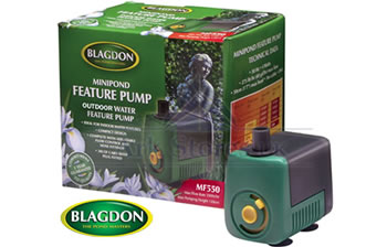 Image of Blagdon MiniFeature Pump 550 Outdoor 10m