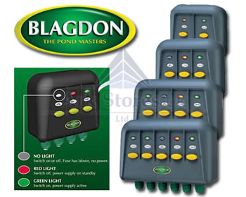 Image of Blagdon Powersafe Switches 4 WAY