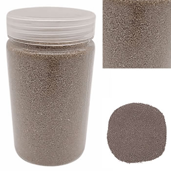 Image of 500g Coloured Brown Decorative Sand Wedding Vase Craft Pot Decoration