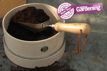 Image of Burgon & Ball Potting Compost Riddle Sieve