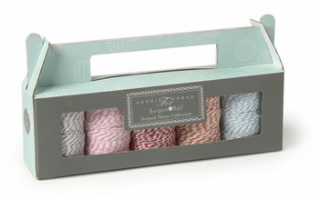 Image of Sophie Conran Striped Candy Twine Collection by Burgon & Ball