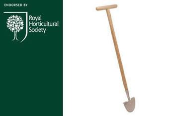 Image of Burgon and Ball RHS Stainless Lawn Edger