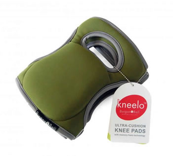 Image of Brand New Garden Knee Pads - Moss