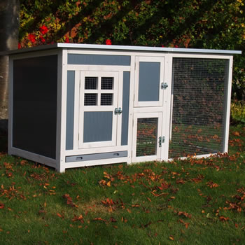 Image of Hybrid Cube Chicken Coop & Run