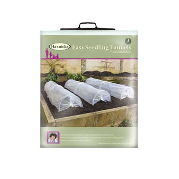 Image of Haxnicks Easy Seedling Tunnel (Pack of 3)
