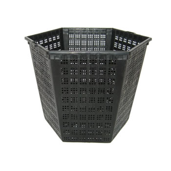 Image of Finofil Hexagonal Pond Basket 18cm