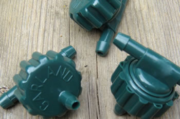 Image of 3 x Extra Spare Dripper Nozzles for Garland Big Drippa Greenhouse Watering Kit