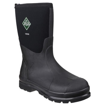 Image of Muck Boot - Chore Classic Mid - Black - UK Size 10