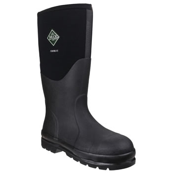 Image of Muck Boot - Chore Classic Hi Steel Cap - Black - UK Size 13