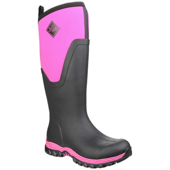 Image of Black/Pink Arctic Sport Tall II - UK Size 3