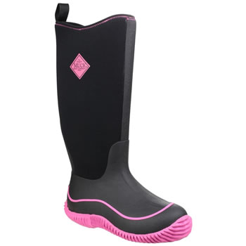 Image of Muck Boot - Womens Hale - Hot Pink/Black - UK Size 3