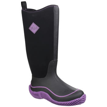 Image of Muck Boot - Womens Hale -Purple/Black UK 8