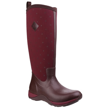 Image of Muck Boot - Arctic Adventure - Cordovan Red Quilt