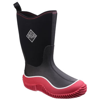 Image of Muck Boot - Kid's Hale - Red/Black