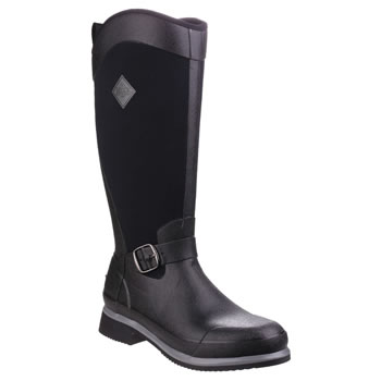 Image of Muck Boot - Reign Tall - Black/Gunmetal - UK Size 3